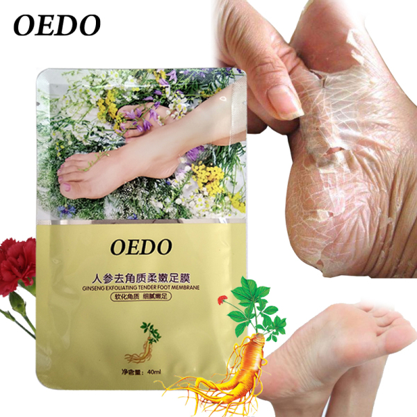 OEDO 1Packs Feet Exfoliating Foot Magic Skin Peeling Dead Skin Feet  Socks For Pedicure Socks Foot