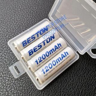 Pin sạc AA Beston 1200mAh (vỉ 4 viên) chuyên micro không dây thumbnail