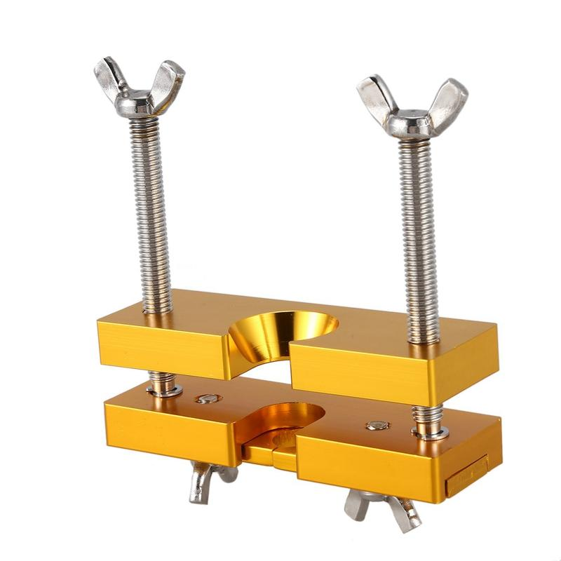 Mouthpiece Puller Tool The Instrument Mouthpiece Puller Remover Adjustable Portable Professional (Gold)