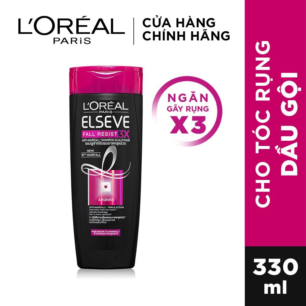Dầu gội ngăn gãy rụng tóc LOreal Paris Elseve Fall Resist 3X Shampoo 330ml giá rẻ