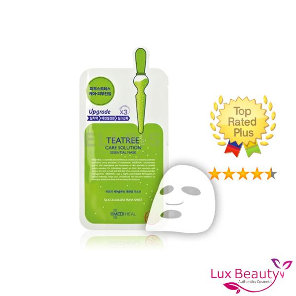 Mặt Nạ Mediheal Tinh Chất Trà Xanh Làm Giảm Mụn 25ml Teatree Care Solution Essential Mask EX cao cấp