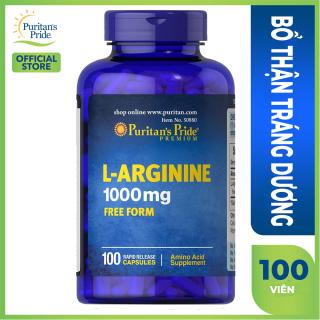 Thực phẩm chức năng L-Agrinine bổ thận,tráng dương tăng cường chức năng Gan ,Thận puritan s Pride của Mỹ nhập khẩu chính hãng thumbnail