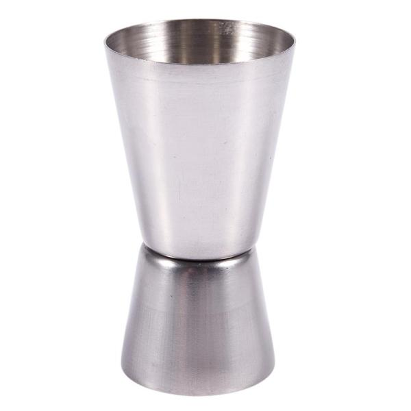 Giá Double cup dispenser Stainless Steel for Measure Alcohol Cocktail Bar Bistro 40 / 20cc