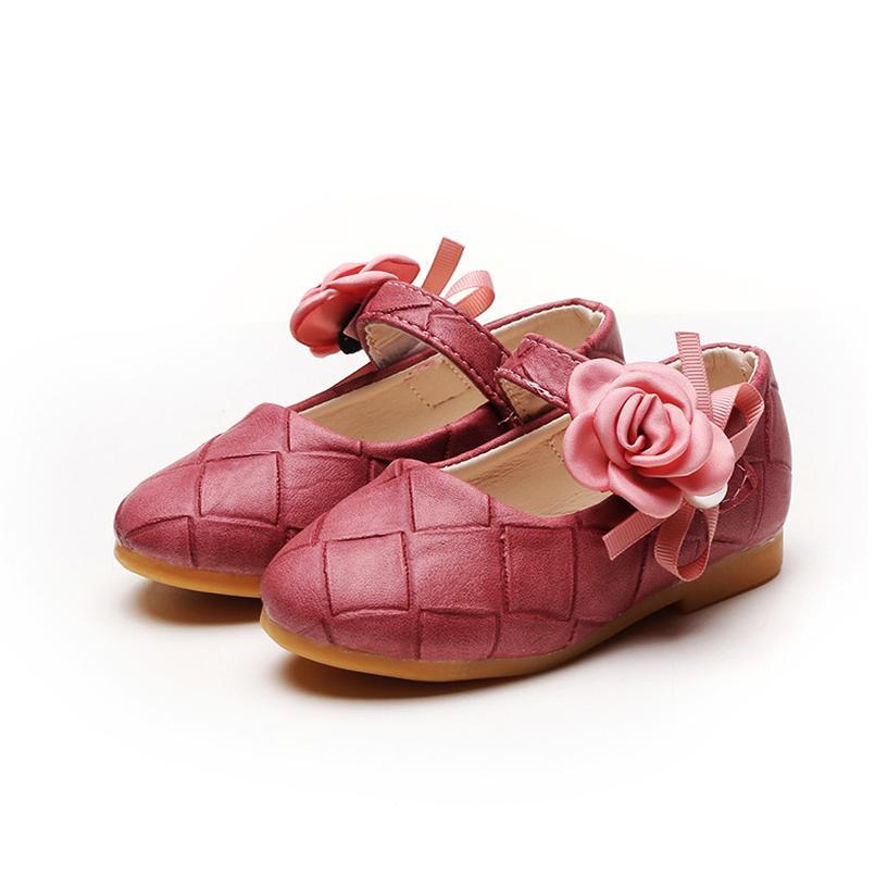 Giá bán Giày bé gái 3-6 tuổi đính hoa công chúa đáng yêu – G14