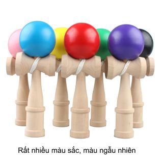 Đồ chơi tung hứng Kendama làm bằng gỗ tự nhiên DCG.KD6 (đường kính bóng lớn 6cm) thumbnail