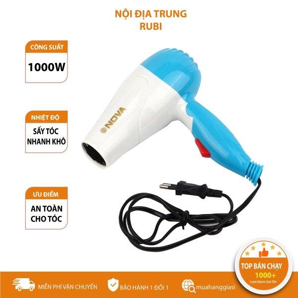 [MIỄN PHÍ VẬN CHUYỂN]  Máy sấy tóc Nova mini gấp gọn 1000W có 2 chế độ thích hợp để mang đi du lịch, máy sấy tóc mini công suất cực mạnh, máy sấy tóc du lịch, máy sấy tóc cao cấp, máy sấy tóc mini du lịch chất lượng