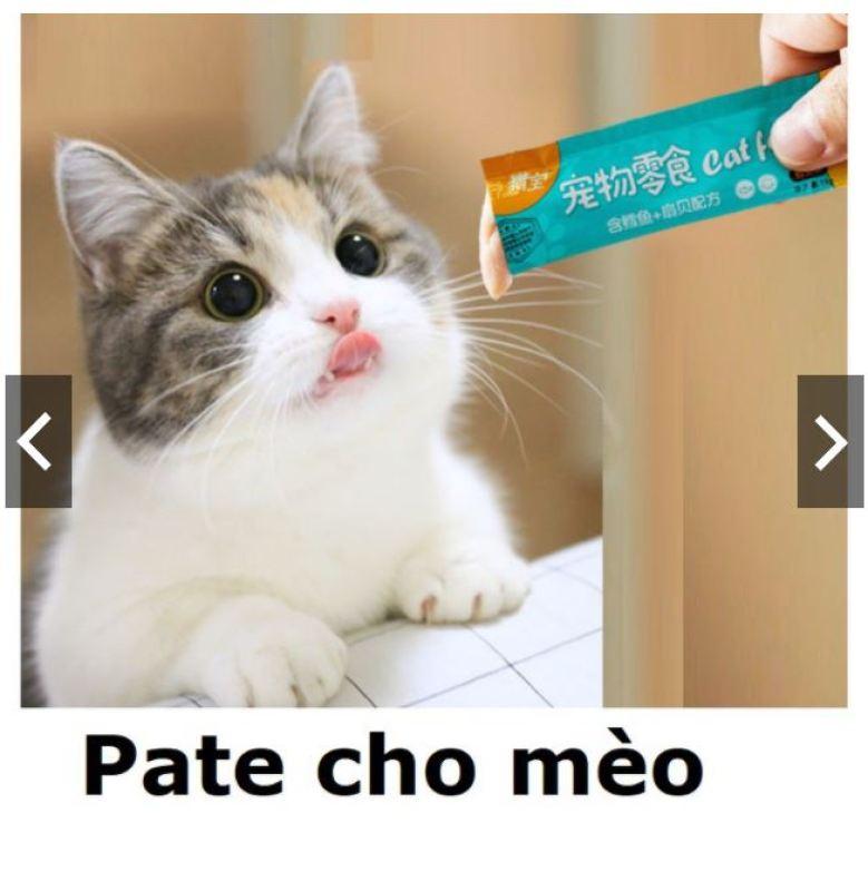 (Lẻ 1 thanh) Pate mèo Cat food dạng Gel dinh dưỡng Hanpetgel 14gr-  thức ăn dạng ướt cho mèo pate thanh cho mèo mỗi thanh 14gr / thức ăn sốt cho mèo / soup cho mèo / thức ăn liếm cho mèo / snack súp thưởng mèo /  đồ ăn vặt mèo