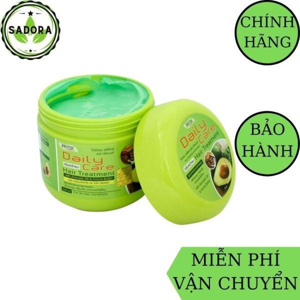 [HCM][Freeship+Quà] Kem Ủ Tóc Bơ Daily Care Thái Lan SADORA giúp tóc suôn mượt phục hồi hư tổn chắc khỏe giảm gãy rụng-500ml