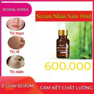 Combo 2 Serum nhân sâm cao cấp peel acnes Blanc ngăn ngừa mụn - sẹo rỗ - tàn nhang hiệu quả Mộc Y Đường ( lựa chọn 10ml,20ml) B orial Korea thumbnail