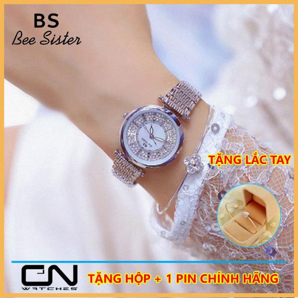 Đồng hồ nữ Bee Sister 1547 mặt nhỏ dây  đính đá cao cấp