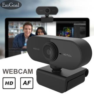 Camera Giám Sát Máy Tính EsoGoal Webcam USB, Camera Tự Động Lấy Nét Nhanh Máy Quay Web Kỹ Thuật Số Máy Ảnh 480P 1080P Có Micrô Giảm Tiếng Ồn Cho Máy Tính Xách Tay Để Bàn thumbnail
