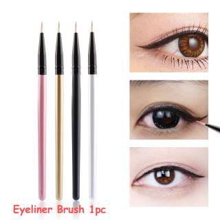 Cọ Kẻ Mắt Cán Gỗ Trang Điểm Làm Đẹp Bán Chạy Dụng Cụ Nối Mi Kẻ Viền Eyeshadow Applicator thumbnail