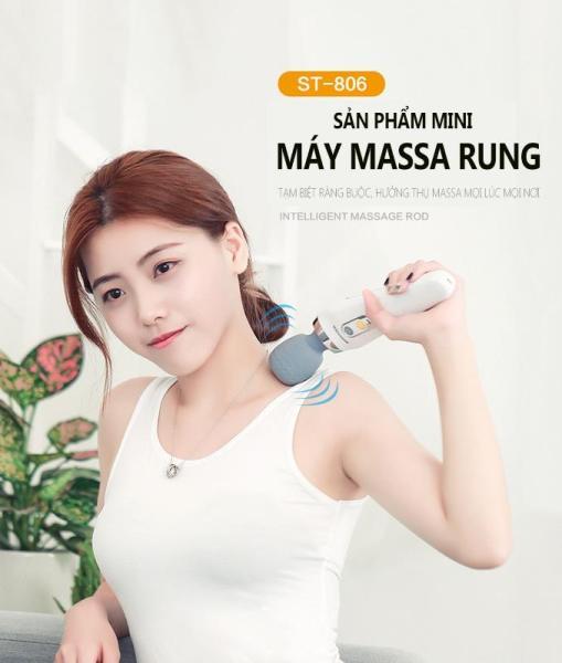 Máy mát-xa mini đa năng cầm tay, Máy mát-xa thư giãn cơ bắp giảm mỡ toàn thân