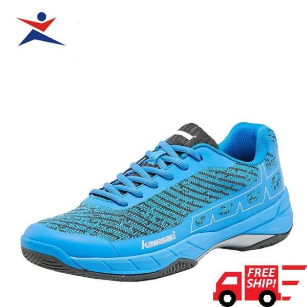 Giày bóng chuyền, giày thể thao , giày cầu lông Kawasaki K353 màu xanh đẳng cấp thời trang siêu êm ái, siêu mềm , đa dạng kiểu dáng dành cho nam