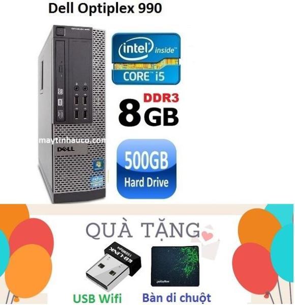 Bảng giá Đồng Bộ Dell Optiplex 990 (Core i5 2400 / 8G / 500G ) Tặng USB Wifi , Bàn di chuột - Hàng Nhập Khẩu Phong Vũ
