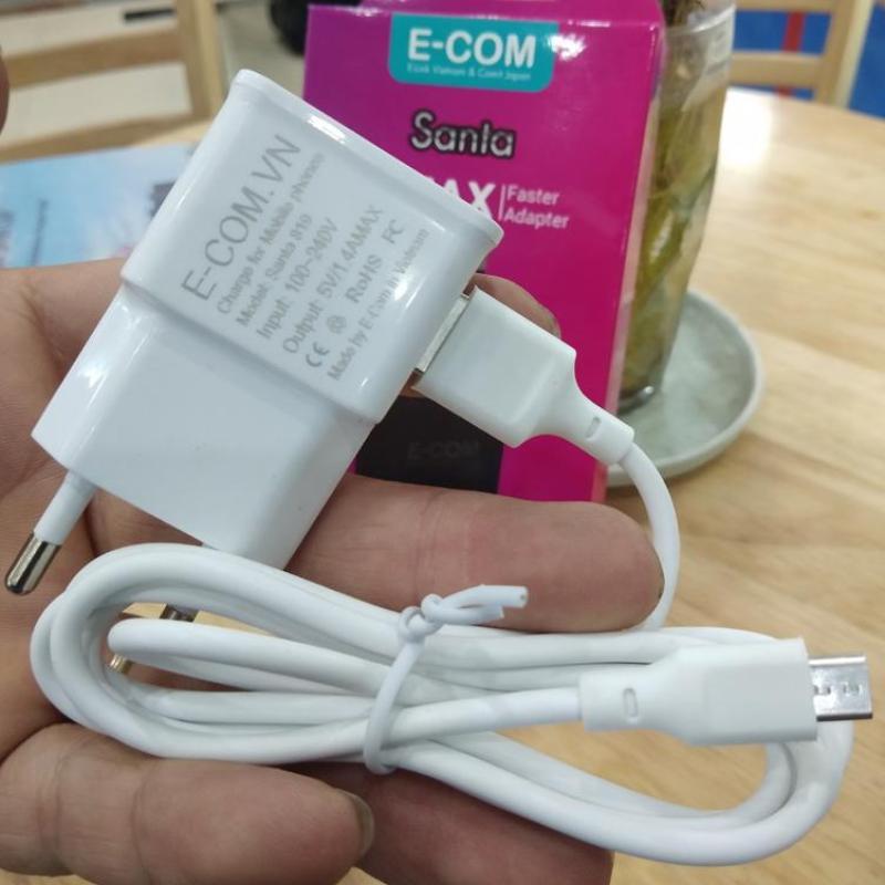 Giá ( GIẢM GIÁ 80% - QUẢNG BÁ THƯƠNG HIỆU VIỆT ) Bộ sạc E-COM 1.4 MAX dùng cho sam sung, oppo, HTC, xiaomi, nokia....Đảm bảo chất lượng tuyệt đối cho khách hàng BẢO HÀNH 1 ĐỔI 1