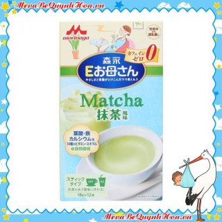 Sữa bầu Morinaga [CHÍNH HÃNG] dành cho bà bầu Sữa Morinaga bầu vị trà xanh, 216g - [CÓ TEM PHỤ TIẾNG VIỆT] thumbnail