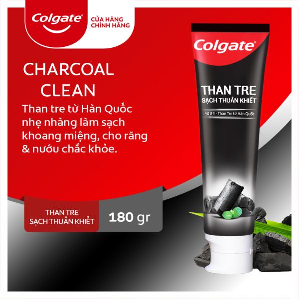 Kem đánh răng Colgate thiên nhiên từ than tre Hàn Quốc 180g giá rẻ