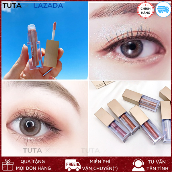 Nhũ mắt kim tuyến lấp lánh bền màu lâu trôi ánh kim tuyến Lameila Liquid Eye Shadow tạo điểm nhấn cho đôi mắt, giúp đôi mắt thu hút, ấn tượng TUTA-PN1