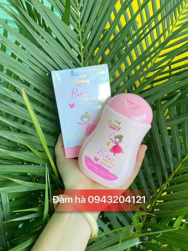 Dung Dich Vệ Sinh Honey Pink - Bướm Hồng Xinh 200ml giá rẻ