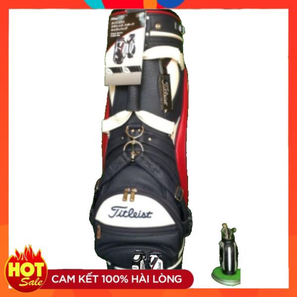 Túi gậy golf Titleist, túi đựng golf, túi golf, Da Sần mẫu Mới sang chảnh