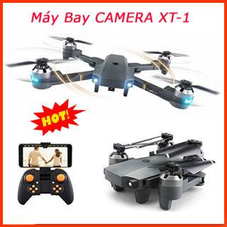 FLYCAM - Flycam Giá Rẻ - Flycam Mini,Flycam Full Hd,Máy Bay Điều Khiển Từ Xa Xt-1 Kết Nối Wifi Quay Phim Chụp ảnh Full Hd 720P,Hợp Cho Phép Người Chơi Ghi Lại Video Fpv, Chụp ảnh Trên Không, Và Thậm Chí Có Thể Chụp Selfie,Sale 50%,Giao Hàng Toàn Quốc thumbnail