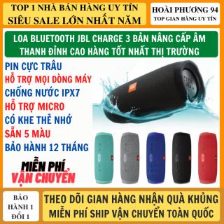 Loa Bluetoooth Không Dây Charge 3 Bản Nâng Cấp Âm Thanh Đỉnh Cao Pin Trâu, Hỗ Trợ Mic Nghe Gọi Hỗ Trợ Mọi Dòng Máy, Có Khe Thẻ Nhớ Và Usb FM, Bluetooth 5.0 Mạnh Mẽ, Loa bluetooth không dây, loa không dây, loa vi tính thumbnail