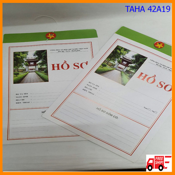 Mua Combo 10 vỏ đựng hồ sơ xin việc HS02 TAHA 42A19