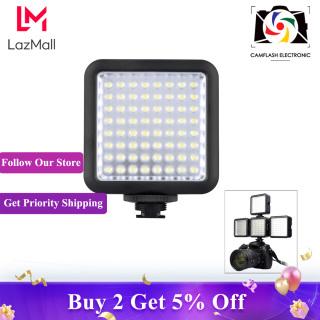 Đèn Video Godox LED64, 64 Đèn LED Cho Máy Quay Phim DSLR Mini DVR Như Ánh Sáng Lấp Đầy Chụp Ảnh Macro Phỏng Vấn Tin Tức Đám Cưới thumbnail