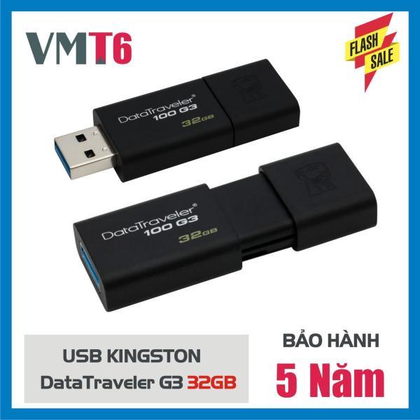 Giá Usb 3.0 kingston_ Dt100g3 32Gb - Bảo Hành 5 Năm!
