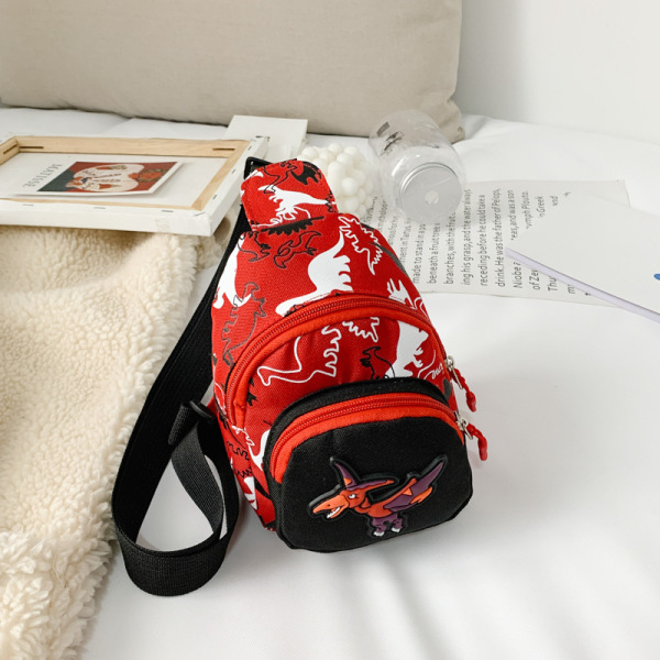 Giá bán Túi đeo chéo trẻ em FUHA, túi in hình khủng long thời trang cho bé trai và bé gái