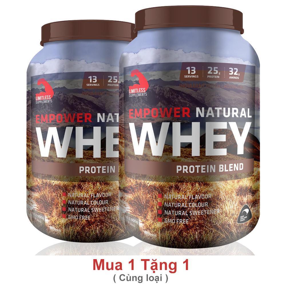 Sữa Tăng Cơ Empower Natural Whey 1.1lbs (0.5kg) [MUA 1 TẶNG 1] cao cấp