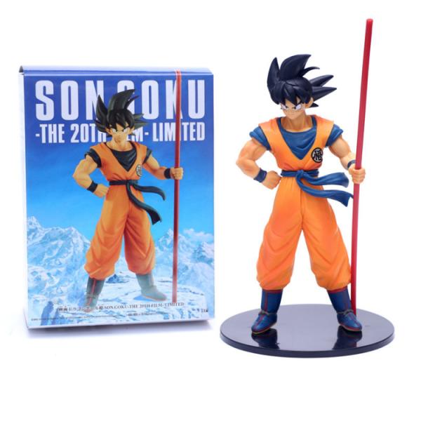 Mô hình Songoku Dragon Ball Super The 20th Film Limited Edition cao 27cm Mô hình bằng nhựa PVC cao cấp đồ chơi trẻ em hoặc trưng bày