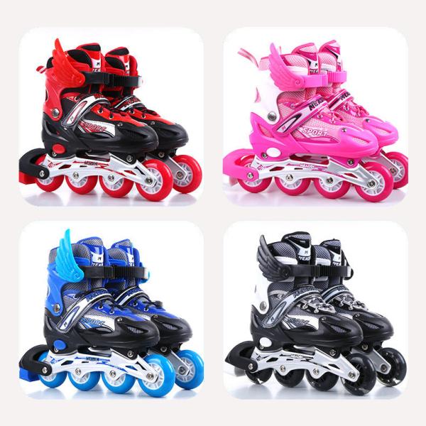 Giá bán Giày trượt patin bánh phát sáng cao cấp - giày patin trẻ em người lớn