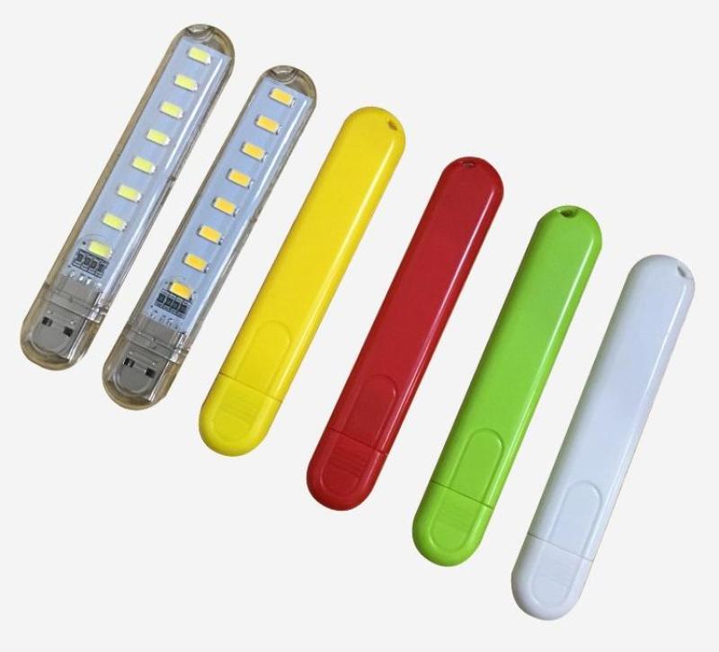 Bảng giá Đèn Led Usb 8 Đèn Siêu Sáng Nhiều Màu Phong Vũ