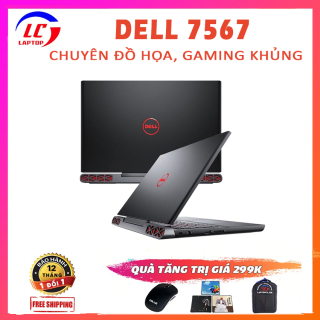 [Trả góp 0%]Laptop Đồ Họa Chơi Game Cao Cấp Dell Inspiron 7567 i5-7300HQ VGA Nvidia GTX 1050 Ti-4G Màn 15.6 FullHD LaptopLC298 thumbnail