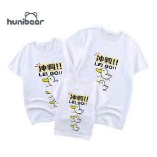 Boys Cô Gái T-Shirt, Áo Thun Cotton Ngắn Tay Cho Cha Mẹ Và Con Cái Mới, Quần Áo Gia Đình Mùa Hè Cặp Vợ Chồng Quần Áo