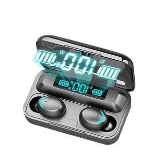 Tai nghe bluetooth BTH F9 5 tai nghe không dây Bluetooth 5.0 Pro, âm thanh 9D, chống nước, chống ồn Tai nghe bluetooth pin 3500 mAh kiêm sạc dự phòng cho điện thoại 3