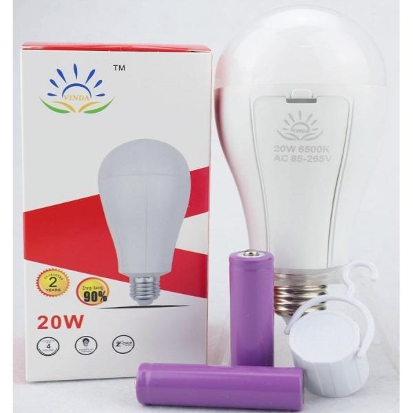 Bóng đèn LED tích điện 20w siêu sáng tiết kiệm điện(4-6H)