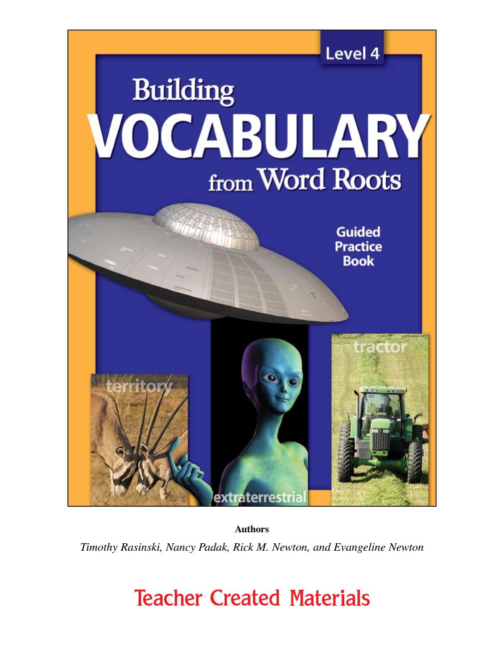 [Sách] Building Vocabulary from Word Roots level 4
