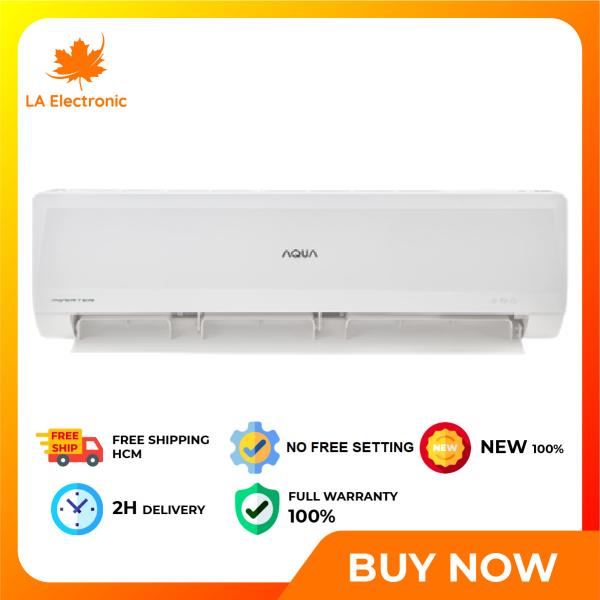 Bảng giá Air Conditioner AQUA Inverter 1.0 HP AQA-KCRV10WNMA - Free shipping HCM