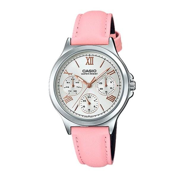 Đồng hồ CASIO LTP-V300L-4A2UDF nữ dây da chính hãng bán chạy