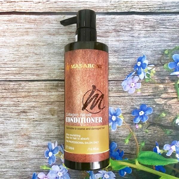 Dầu xả Masaroni siêu mượt cho tóc khô xơ hư tổn 500ml (CANADA)- Chai cao cấp