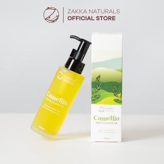Dầu Tẩy Trang Zakka Naturals Làm Sạch, Dưỡng Ẩm, Chống Lão Hóa Camellia Deep Cleansing Oil 100g thumbnail