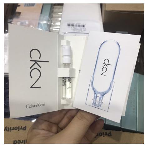 Nước hoa CK2 unisex 1.2ml