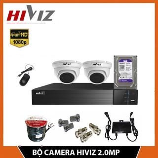 TRON BỘ CAMERA HIVIZ 2 MẮT FULL HD 2.0MP TRONG NHÀ thumbnail