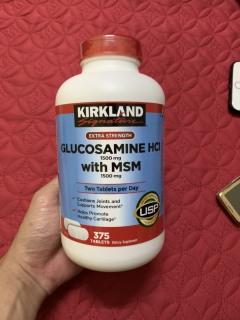 Viên uống Glucosamine HCL 1500mg with MSM 1500mg 375 viên thumbnail