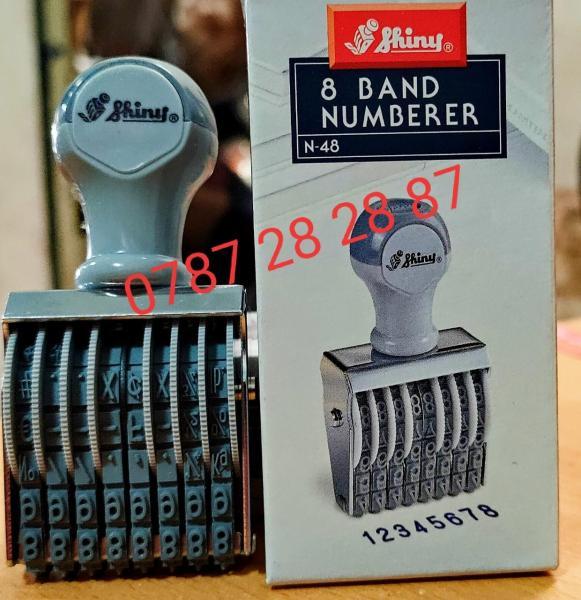 Mua Dấu xoay 8 số Shiny N48 - 4mm - Dấu xoay tay Shiny N-48 - Dấu ngày tháng năm N48 - Dấu xoay 8 số Shiny N48 - 4mm