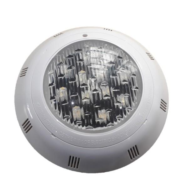 ĐÈN LED DƯỚI NƯỚC 12W-12V ánh sáng vàng nhạt  vỏ ngoài bằng nhựa dùng cho bể bơi hoặc sân vườn - Thiết bị trang trí bể bơi