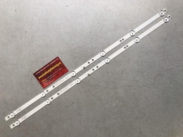 Bảng giá Asanzo 32T800 - Bộ 2 thanh 6 led 3v cho Tivi Asanzo 32 inch và các dòng tương tự Phong Vũ